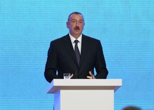 """İlham Əliyev: """"Bakı-Tbilisi-Qars dəmir yolu qlobal layihədir"""""""