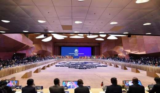 İlham Əliyev nazirlər konfransında iştirak edir - Yenilənib