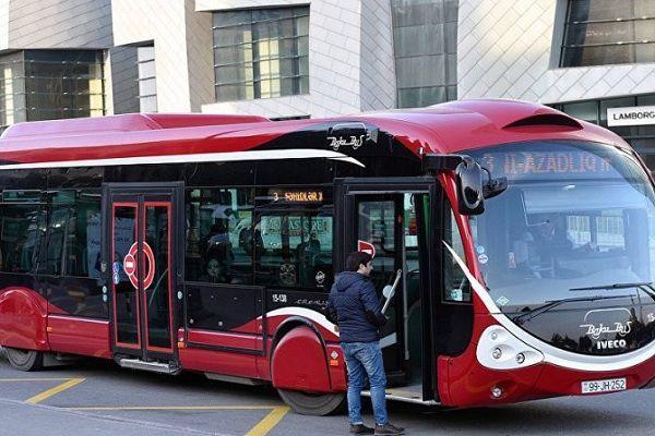 Marşrut avtobuslarının hərəkət sxemi dəyişdi – SİYAHI