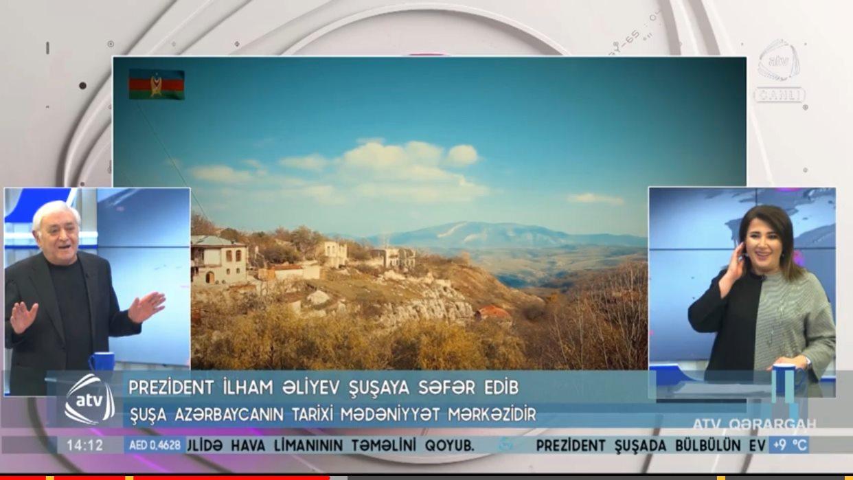 """AQİL ABBAS """" ATV QƏRARGAH"""" IN QONAĞI OLUB - VİDEO"""