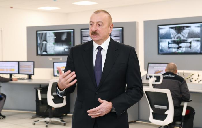 """İlham Əliyev:""""Ölkəmizin uzunmüddətli dayanıqlı inkişafı təmin ediləcək"""""""