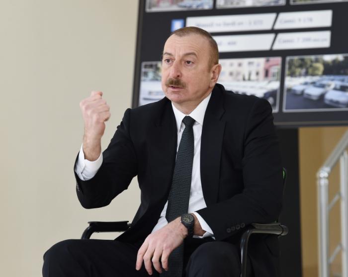 """Prezident:""""Azərbaycan tarixində buna oxşar parlaq qələbə olmayıb"""""""