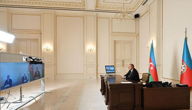 İlham Əliyev yeni təyin olunan icra başçılarını qəbul etdi - VİDEO