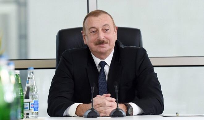 İlham Əliyev xalqa müraciəti